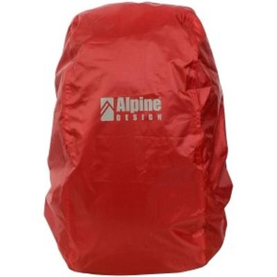 アルパインデザイン トレッキング アウトドア ザックカバー ザックカバー 30-40 ADA-Y20-014-054 RED レッド