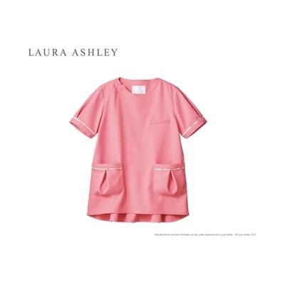 LAURA ASHLEY LW602 スクラブ(半袖)(女性用) ナースウェア・白衣・介護ウェア