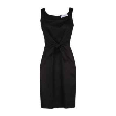 ANNA RACHELE ミニワンピース&ドレス ブラック 48 コットン 97% / ポリウレタン 3% ミニワンピース&ドレス
