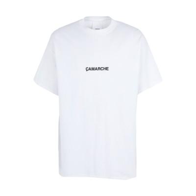 ÇAMARCHE T シャツ ホワイト XL コットン 100% T シャツ