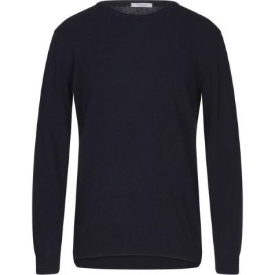 ベルウッド BELLWOOD メンズ ニット・セーター トップス cashmere blend Dark blue
