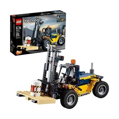 レゴ テクニックシリーズ 6213710 LEGO Technic Heavy Duty Forklift 42079 Building Kit (592 Pieces) (D
