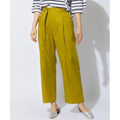 Spendard / 【SONO/ソーノ】ウエストベルトチノパンツ WOMEN パンツ > チノパンツ