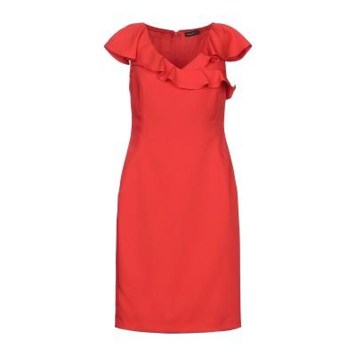 MARIELLA ROSATI ミニワンピース&ドレス レッド 42 ポリエステル 89% / ポリウレタン 11% ミニワンピース&ドレス