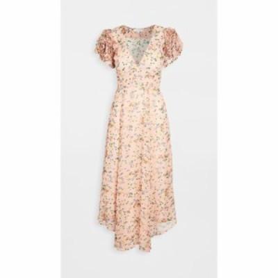 ラブシャックファンシー LOVESHACKFANCY レディース ワンピース ワンピース・ドレス Clemence Dress Sunset Pink