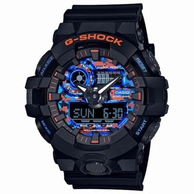 取寄品 CASIO腕時計 カシオ G-SHOCK ジーショック アナデジ アナログ&デジタル 丸形 GA-700CT-1AJF 人気モデル メンズ腕時計 送料無料