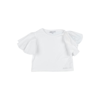 パトリツィア ペペ PATRIZIA PEPE T シャツ ホワイト 10 コットン 95% / ポリウレタン 5% T シャツ