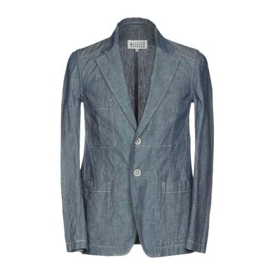 メゾン マルジェラ MAISON MARGIELA テーラードジャケット ブルー 48 コットン 100% テーラードジャケット