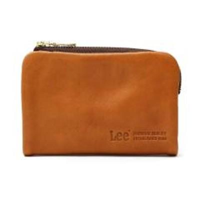 Lee(リー)Lee 財布 LEE リー loose 二つ折り財布 小銭入れ レザー 本革 メンズ レディース 320-1922 ブラウン(02)