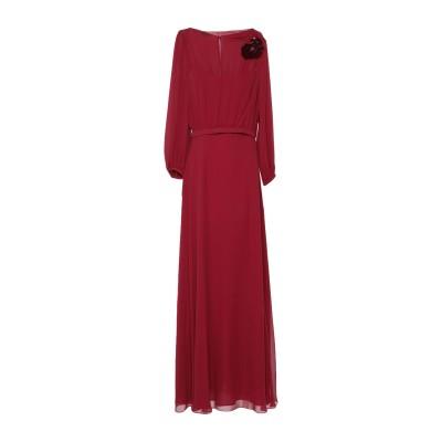 エスカーダ ESCADA ロングワンピース&ドレス ボルドー 38 シルク 100% ロングワンピース&ドレス