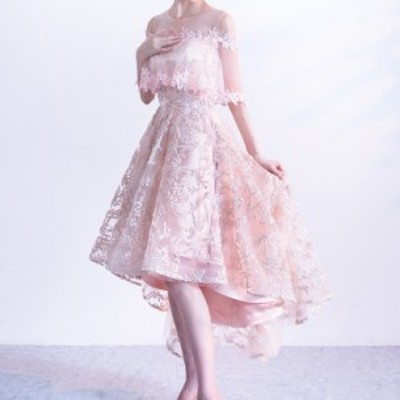ドレス パーティードレス お呼ばれドレス 結婚式 お呼ばれ ヒザ丈 ワンピース 大きいサイズ 袖あり 20代 30代 長袖 3714