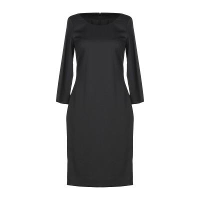 アレッサンドロデラクア ALESSANDRO DELL'ACQUA ミニワンピース&ドレス ブラック 40 ポリエステル 82% / レーヨン 15