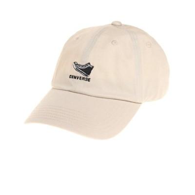 コンバース(CONVERSE)帽子 メンズ キャップ シューズロゴ ツイルキャップ 17511271793980 日よけ