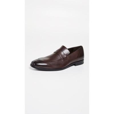 ヒューゴ ボス BOSS Hugo Boss メンズ ローファー シューズ・靴 Highline Slip On Loafers Dark Brown