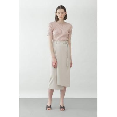 BOSCH (ボッシュ) レディース ◆VISハイツイストセットアップスカート グレージュ1(021) 38