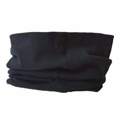 『全国送料無料』CHARM ネックウォーマー オーガニックコットン メンズ レディース [ フリーサイズ / ブラック ] 2way 日本製