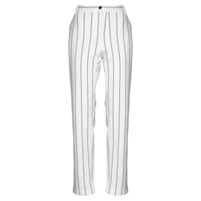 PENNYBLACK パンツ ホワイト L コットン 96% / ポリウレタン 4% パンツ
