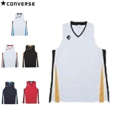 コンバース ゲームシャツ Tシャツ シャツ ノースリーブ タンクトップ デザイン シンプル スポーツ 運動 トレーニング 練習 バスケットボール バス