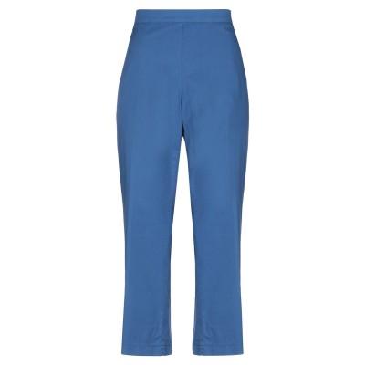 GAIA LIFE パンツ ブルー 52 コットン 98% / ポリウレタン 2% パンツ