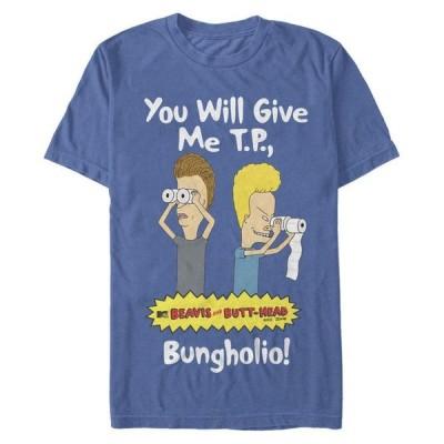 フィフスサン メンズ Tシャツ トップス Men's Beavis and Butthead Come for Your TP Short Sleeve T-shirt