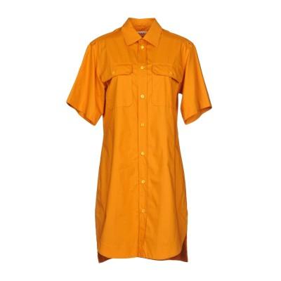 マルニ MARNI ミニワンピース&ドレス オレンジ 40 100% コットン ミニワンピース&ドレス