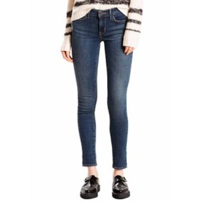リーバイス レディース デニムパンツ ボトムス 711 Skinny Jeans Med Blue 1