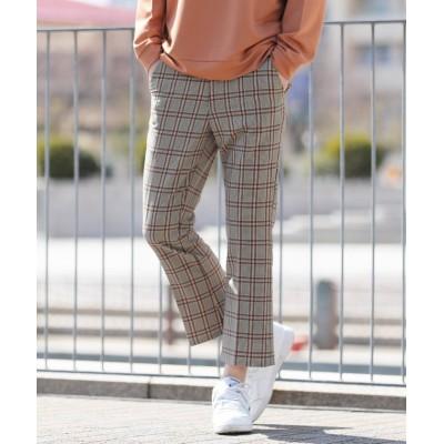 【ジギーズショップ】 フレアパンツ / フレアパンツ メンズ フレア パンツ ストレッチ メンズ ベージュ系1 L JIGGYS SHOP