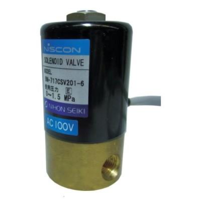 日本精器 2方向電磁弁6AAC100V717CS BN717CSV2016E100  [BN-717CSV201-6-E100][r20][s9-820]