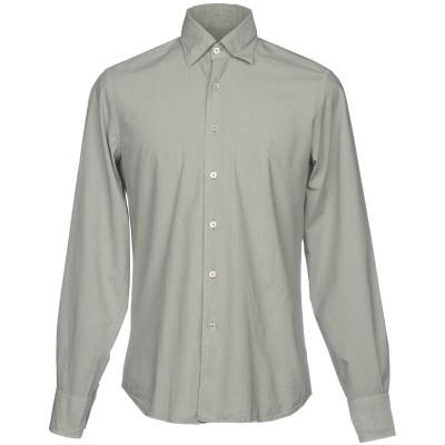 カナーリ CANALI シャツ グレー S コットン 100% シャツ