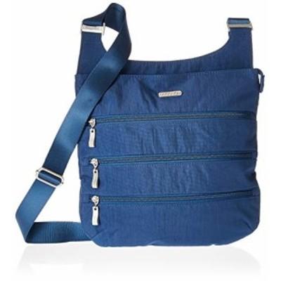 バッガリーニ アメリカ 日本未発売 Baggallini Big Zipper Travel Crossbody Bag, Pacific, One Size