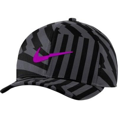 ナイキ メンズ 帽子 アクセサリー Nike Men's Classic99 Golf Hat Black/Grey