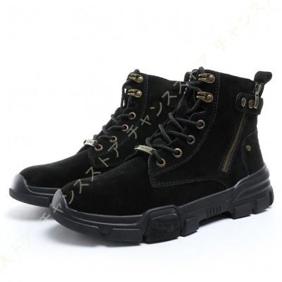 デザートブーツ メンズ スニーカー 靴 カジュアル 履きやすい 快適 レースアップ ショート デザート ブーツ スエード シューズ プレゼント 誕生日 おしゃれ