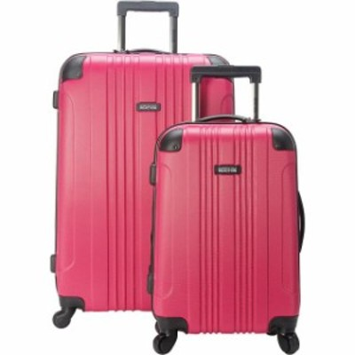 Kenneth Cole ケネスコール 旅行用品 キャリーバッグ Kenneth Cole Reaction Out of Bounds 2 Piece Hardside Luggage Set NEW