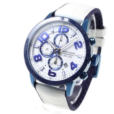 店内ポイント最大26倍!エンジェルクローバー 腕時計 メンズ LU44BNV-WH