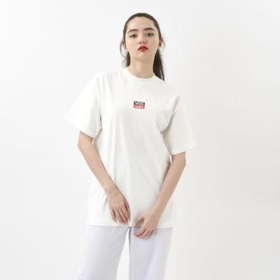 【VANS】 ヴァンズ W LOGO S/S-T ショートスリーブ 120H3010138 WHITE S ホワイト