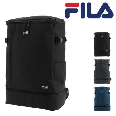 フィラ リュック 29L 大容量 プリモ メンズ レディースFILA-7528 FILA   リュックサック スクエア デイパック A4 通学 2層式 [PO10]