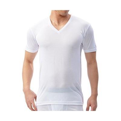[ビー・ブイ・ディ] インナーシャツ GR354HS メンズ ホワイト 日本 M-(日本サイズM相当)