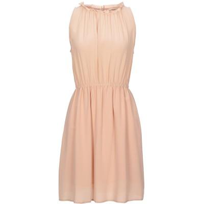 セミクチュール SEMICOUTURE ミニワンピース&ドレス ローズピンク 42 シルク 100% / ポリエステル ミニワンピース&ドレス