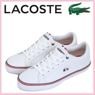 LACOSTE (ラコステ) CAW0092 LEROND 218 1 QSP レロンド レディーススニーカー 21G-WHT/WHT LC124