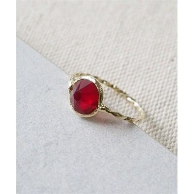 【Juno Briller】ころんとした一粒石が可愛い バースストーンカラーリング ネックレス(ペンダント)