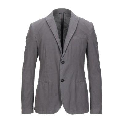 ダニエル アレッサンドリーニ DANIELE ALESSANDRINI テーラードジャケット グレー 50 コットン 100% テーラードジャケット