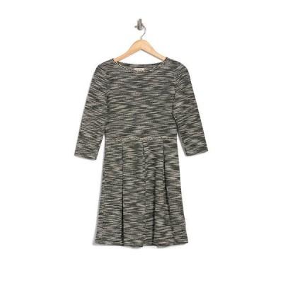 マックスタジオ レディース ワンピース トップス Pleated Knit Dress BKIVO715