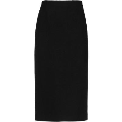 ジャッカ JUCCA 7分丈スカート ブラック 38 バージンウール 58% / ナイロン 22% / 毛(アルパカ) 20% 7分丈スカート
