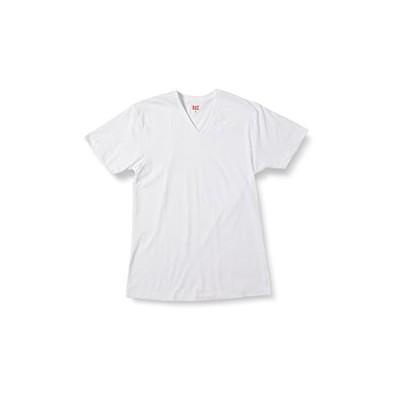 [ビー・ブイ・ディ] VネックTシャツ 大きいサイズ POCHA BODY メンズ WH 日本 6L (日本サイズ6L相当)