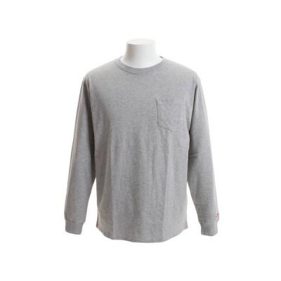 スライド(SLYDE) Tシャツ メンズ 長袖 ロングスリーブ sl2018081003-HGRY オンライン価格 (Men's)