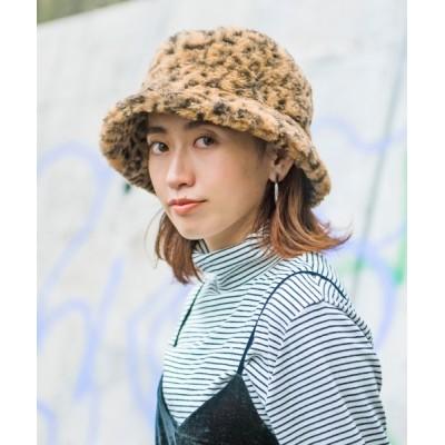 OVERRIDE / 【milsa】Eco Fur Bucket Hat / 【ミルサ】エコファー バケットハット WOMEN 帽子 > ハット
