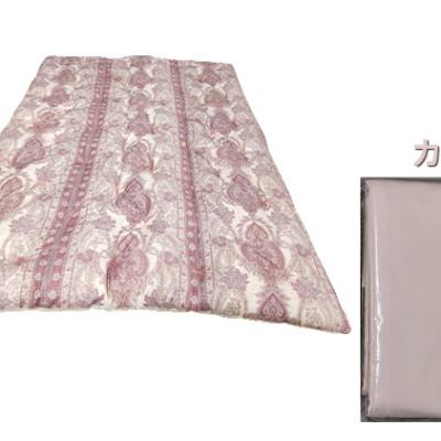 ふとん職人がつくるこだわり手造り綿掛ふとん210丈【布団ピンク・カバーピンク】