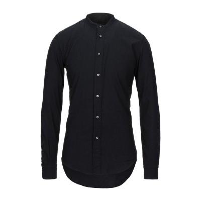 ブライアン デールズ BRIAN DALES シャツ ブラック 39 コットン 97% / ナイロン 3% シャツ
