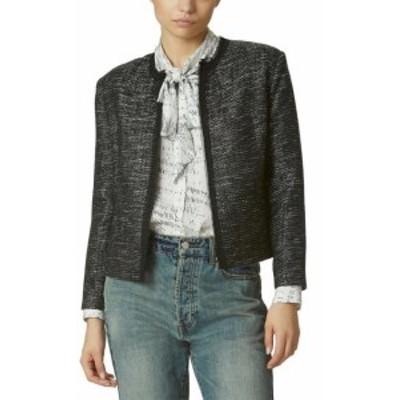 Avec Les Filles アベックレフィレ ファッション 衣類 Avec Les Filles Raw Edge Tweed Jacket L