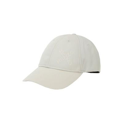 ケンゾー KENZO 帽子 アイボリー one size ポリエステル 69% / ナイロン 31% 帽子